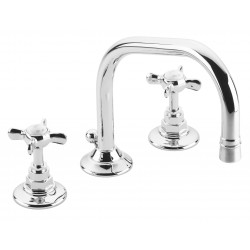 Pevensey Deck Mount 3 Hole Basin Set